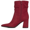 HOLLACE ANKLE BOOTS IN HOT SAUCE