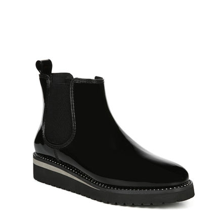 LUNA ANKLE BOOTS IN BLACK GORE