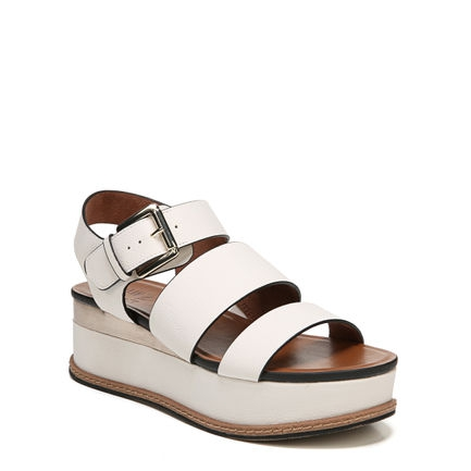 BILLIE WEDGES IN VANILLA
