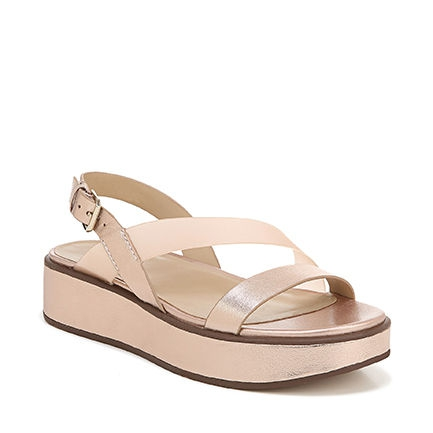 CHARLIZE WEDGES IN ROSE GOLD