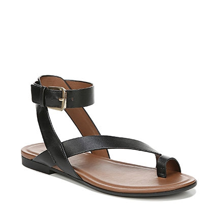 TALLY SANDALS IN BLACK