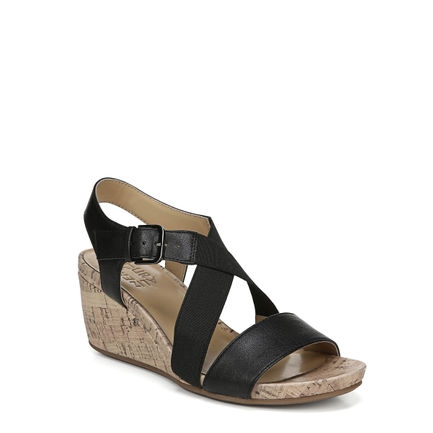 AUSTINE WEDGES IN BLACK
