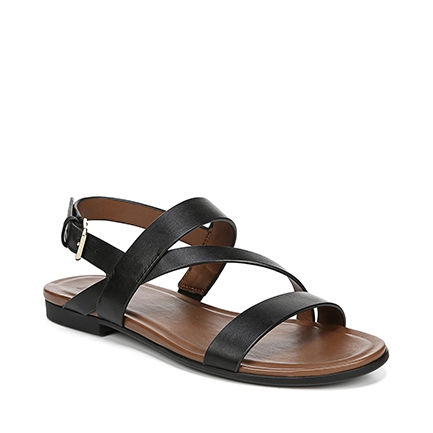 TRU SANDALS IN BLACK