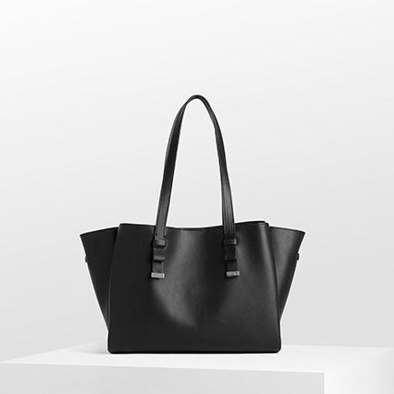 H-ESME BAGS IN BLACK