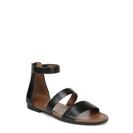 TISH SANDALS IN BLACK