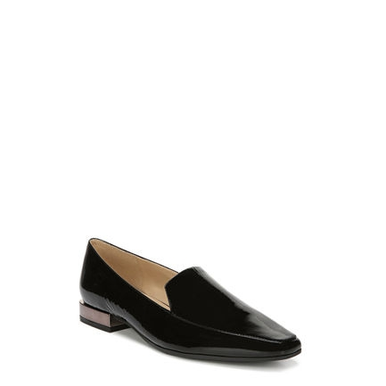 CLEA FLATS IN BLACK PATENT