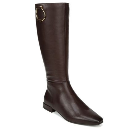 CARELLA FULL BOOT IN CHOCOLATE