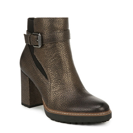 CORA_ ANKLE BOOTS IN GOLD