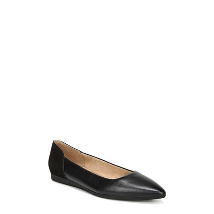 RAYNA_ FLATS IN BLACK