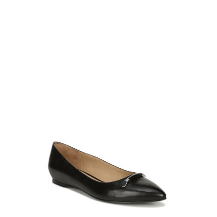 SABLE_ FLATS IN BLACK