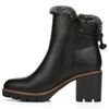 VALENE ANKLE BOOTS IN BLACK