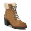 VARUNA ANKLE BOOTS IN PEANUT BUTTER