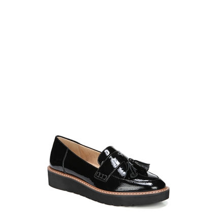 AUGUST CASUALS IN BLACK PATENT