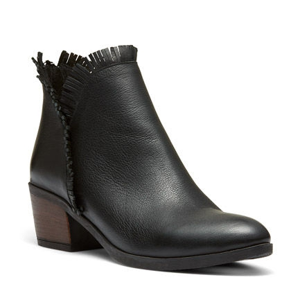 B-MORGAN ANKLE BOOTS IN BLACK