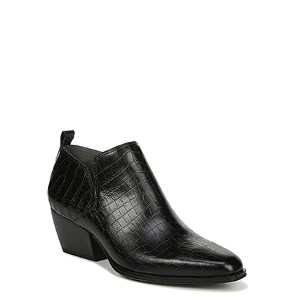 L-DINGO2 FRANCO SARTO IN BLACK CROCO