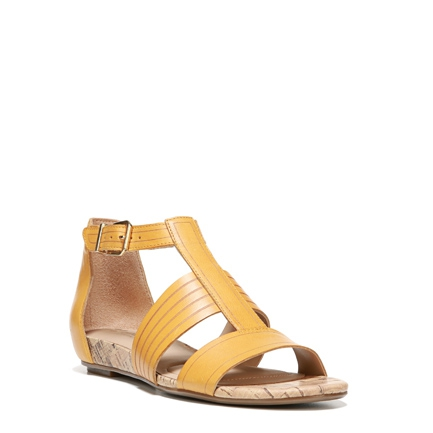 LONGING SANDALS IN YELLOW