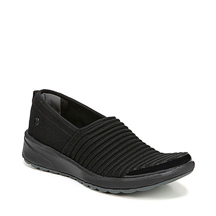 GLEE SPORT IN BLACK RIBBED