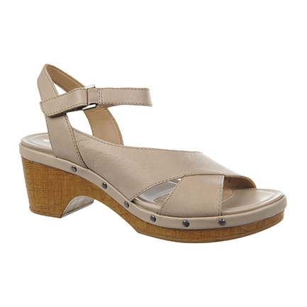 GENEVA SANDALS IN TAUPE