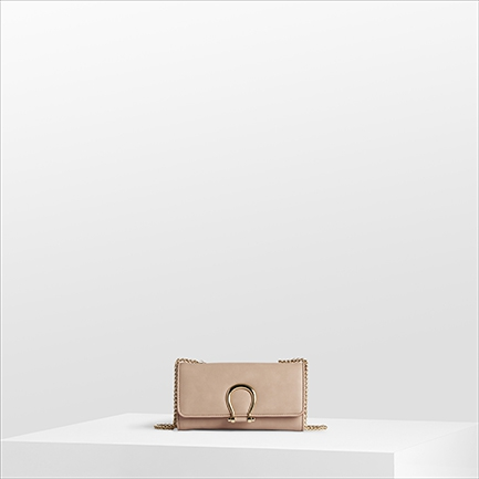 H-LONDON BAGS IN BARELY NUDE