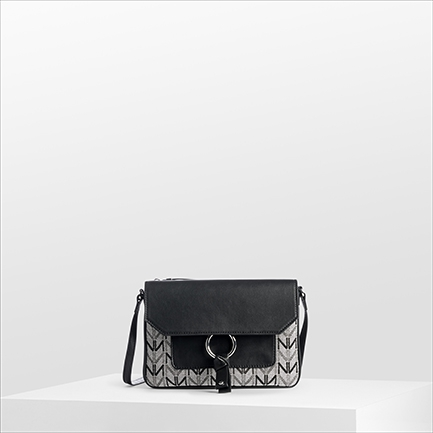 H-CINTY2 BAGS IN BLACK/WHITE