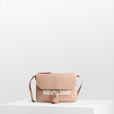 H-CINTY2 BAGS IN BARELY NUDE