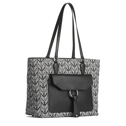 H-DYLANA2 BAGS IN BLACK/WHITE