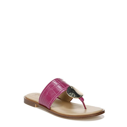 FRANKIE_ SANDALS IN HIBISCUS CROC