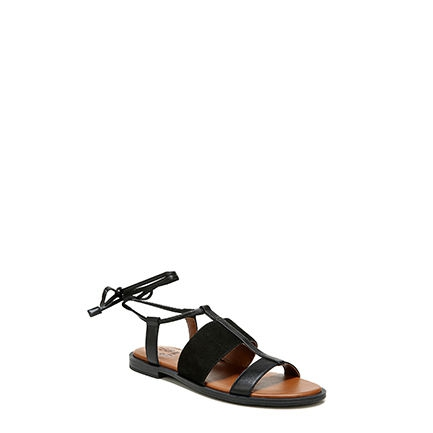 FAYEE SANDALS IN BLACK
