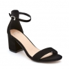 USHAA  SANDALS IN BLACK