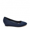 BERLINDA  WEDGES IN NAVY