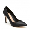 IRANIA  COURT IN BLACK SMOOTH