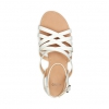 TAWNY  SANDALS IN WHITE