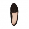 CASANDRA FLATS IN BLACK