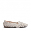 CASANDRA FLATS IN WHITE