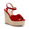 MINDY SH  WEDGES IN RED