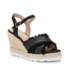 MALLORY SH  WEDGES IN BLACK