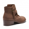 DAGALI  BOOTS IN CHOCOLATE