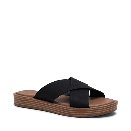 BITE FLATS IN BLACK