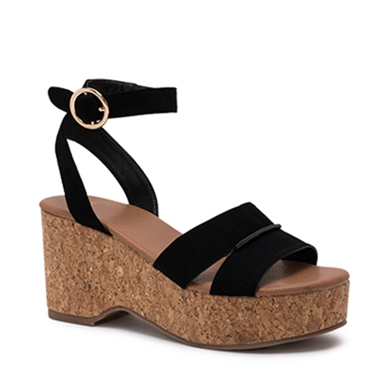 WILLOWW WEDGES IN BLACK