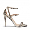MADNESS HEELS IN NATURAL SNAKE