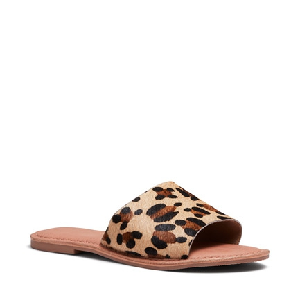 SALLY FLATS IN LEOPARD