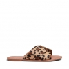 SHADE  THONGS IN LEOPARD