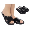 LOONEY SLIDES GRENDENE IN BLACK