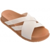 ZAXY FLAT DAYS GRENDENE IN OFF WHITE