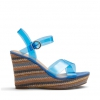 ZEPA WEDGES IN BLUE