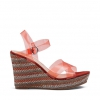 ZEPA WEDGES IN ORANGE