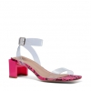VIVIE HEELS IN FUCHSIA