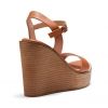 WHIPPA WEDGES IN TAN