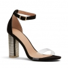 ZAINA  SANDALS IN BLACK