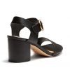 ULY HEELS IN BLACK MULTI